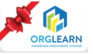 Orglearn gift card
