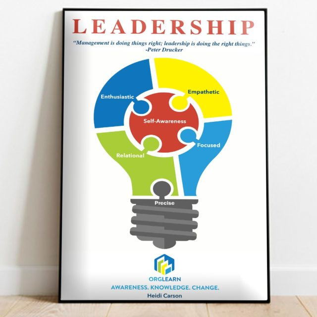 Orglearn store: poster - Leadership