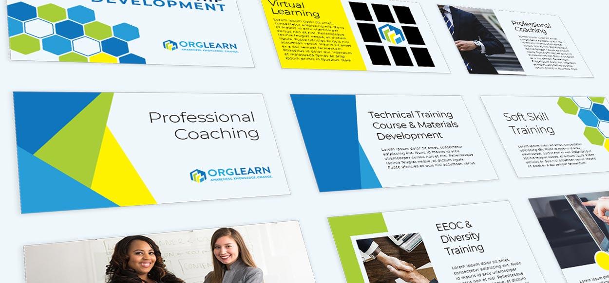 Orglearn - powerpoint presentation templates